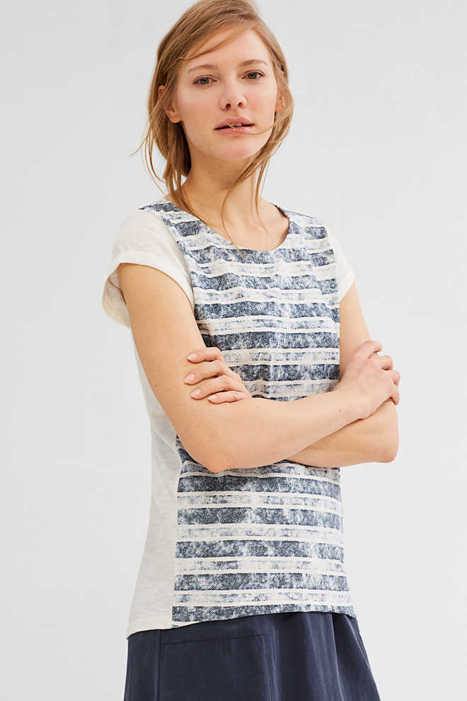 Esprit / Dragonfly T-shirt with a print, 100% cotton