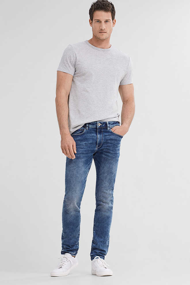 Esprit / 5 Pocket-Jeans aus Stretch-Denim