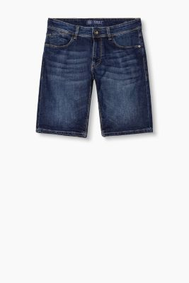 Bermuda-Shorts aus Stretch-Denim
