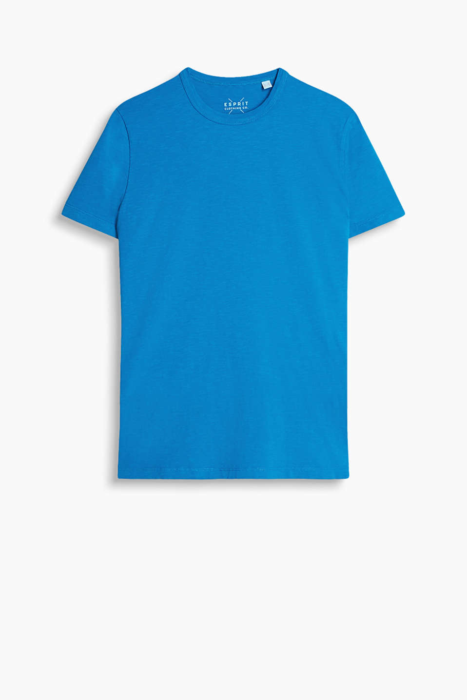 A fashion basic: T-shirt with a high-quality dye