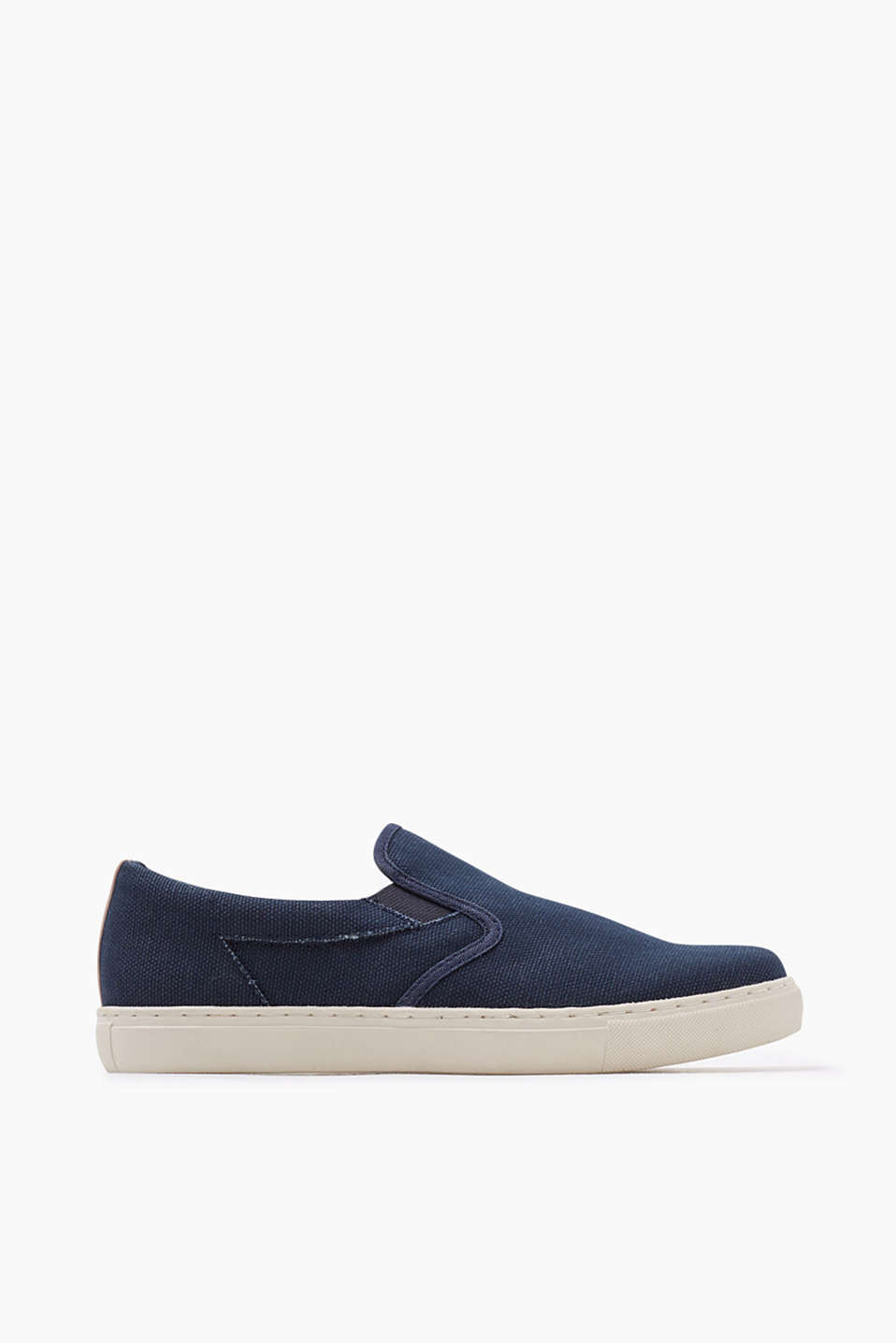 Easy to wear: Slip-On Sneaker aus Canvas