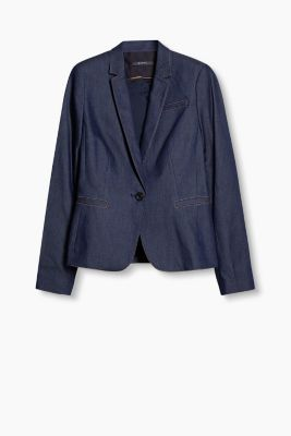 Blazer aus sommerlichem Stretch-Denim