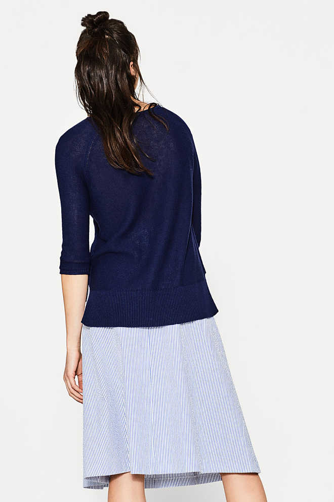 Esprit / Linen/cotton blend jumper