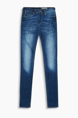 High-Waist-Jeans mit Stretch