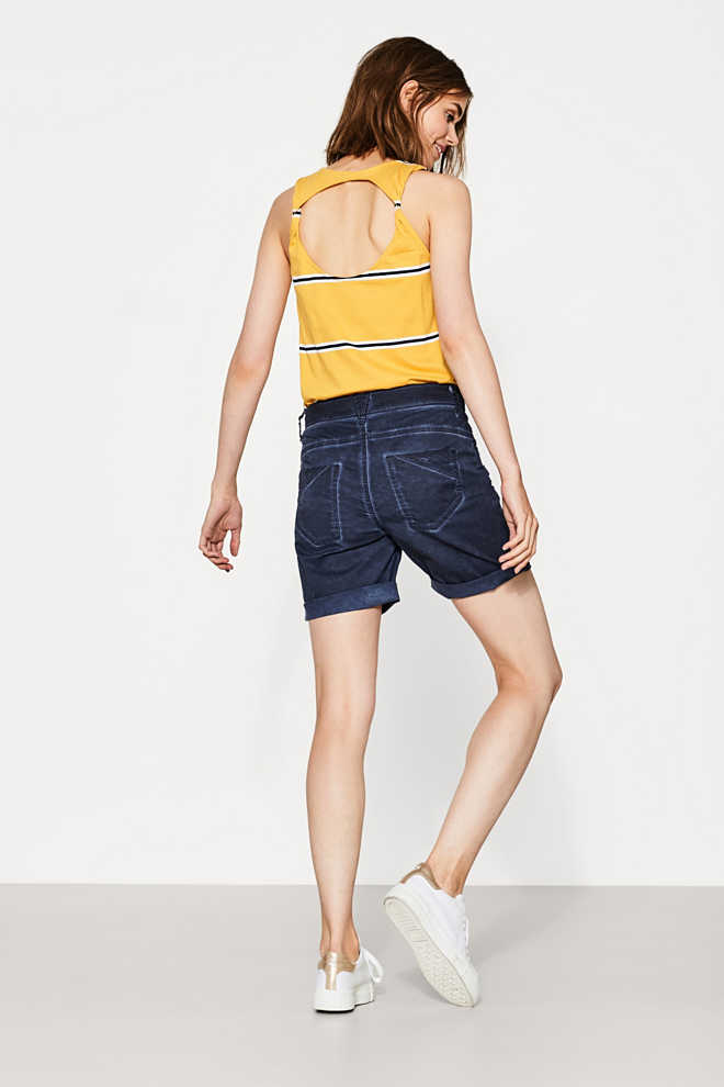 EDC / Shorts 5 tasche in cotone stretch