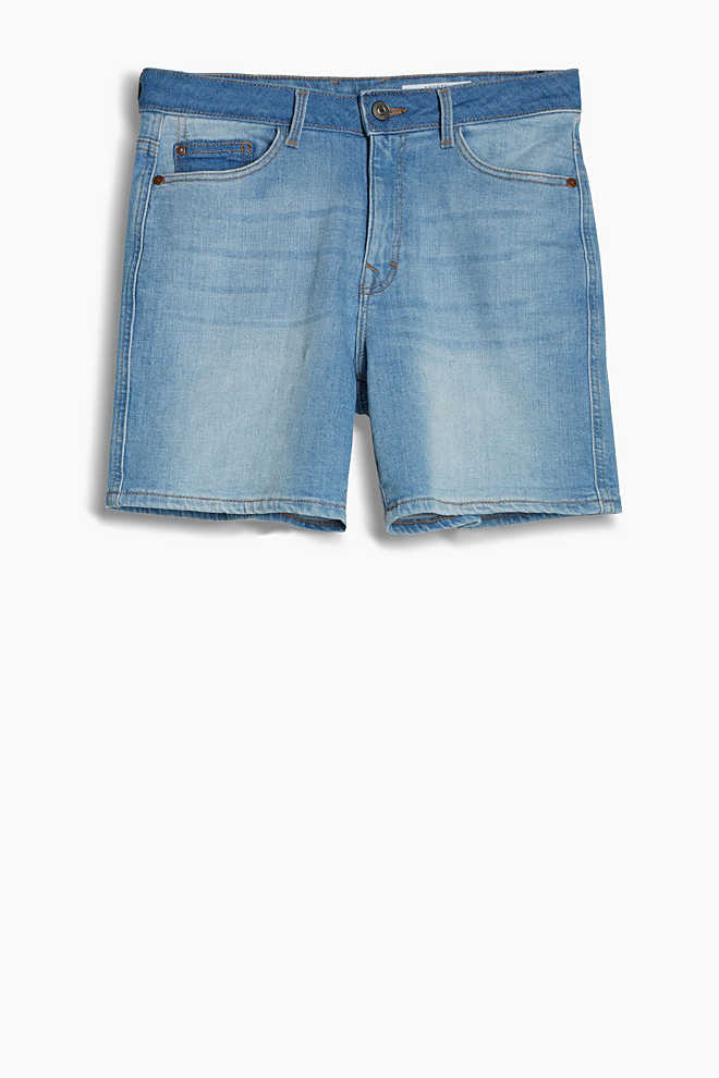 EDC / Short en denim de coton stretch