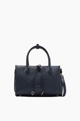 City-Bag in softer, genarbter Leder-Optik