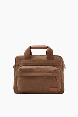 Messenger Bag aus Baumwoll-Canvas