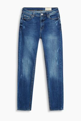 Leichte High-Waist-Denim mit Stretch