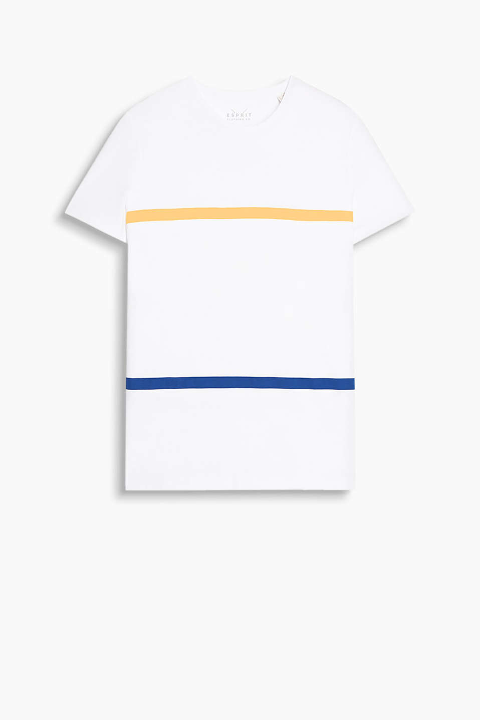 Round neck T-shirt made of 100% cotton