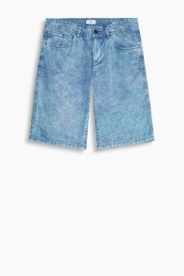 Canvas-Shorts aus Baumwolle