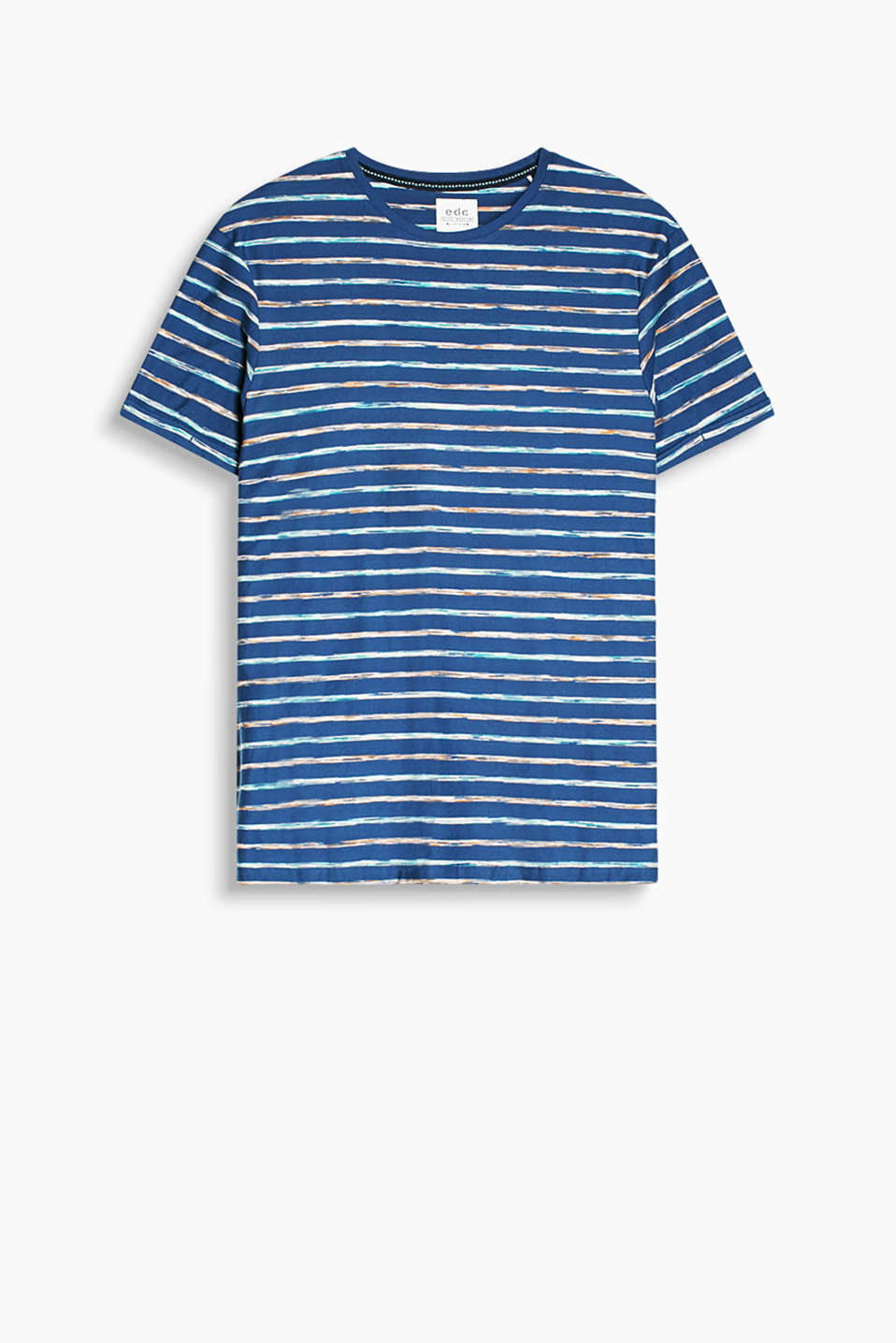 Summery striped T-shirt made of 100% cotton