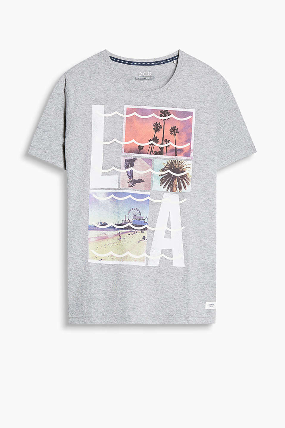 T-shirt in 100% cotton with a retro-style photo print