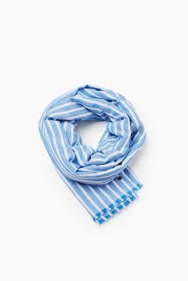 Double layer scarf in 100% cotton