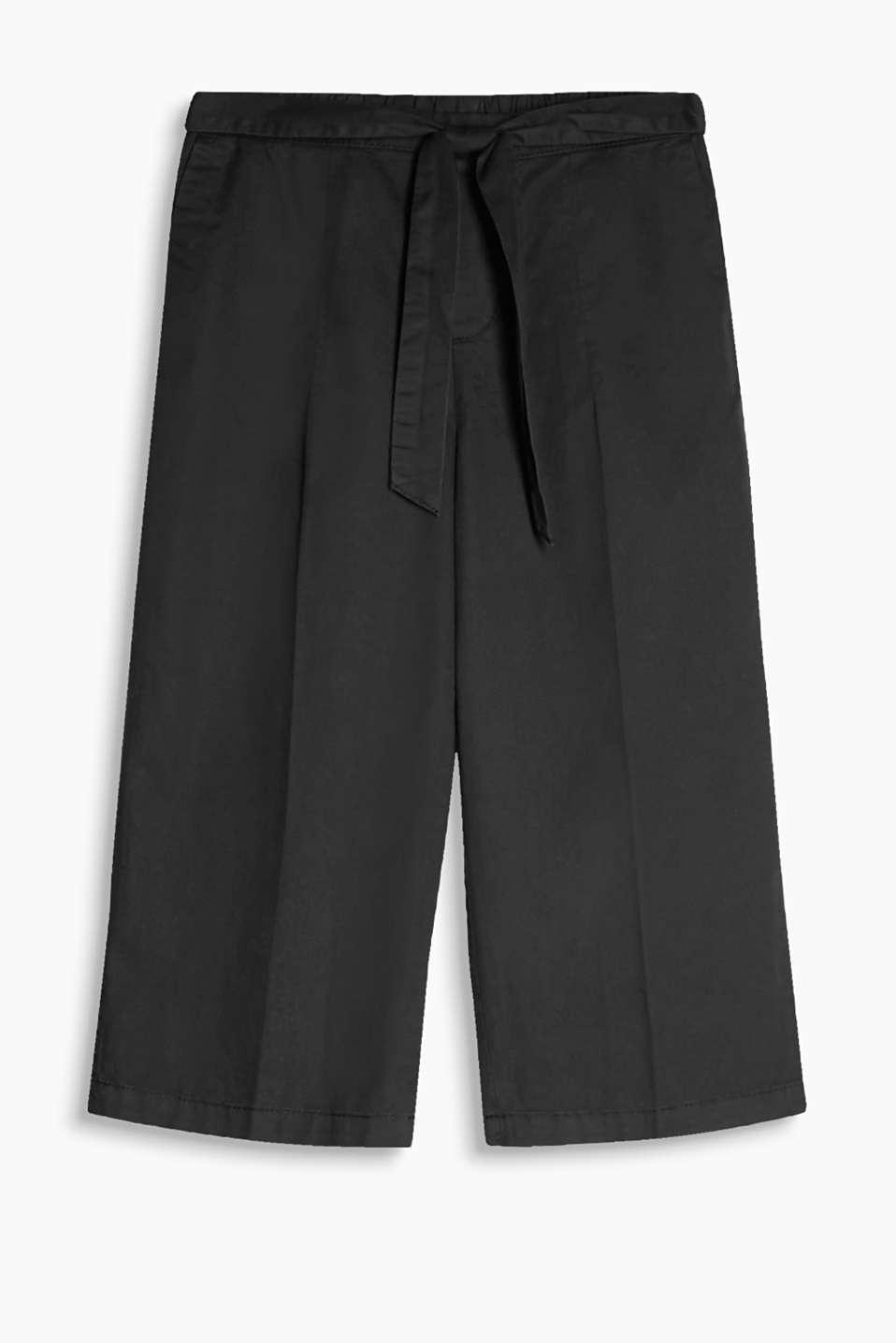 esprit jupe culotte fluide 100 coton acheter sur la boutique en ligne. Black Bedroom Furniture Sets. Home Design Ideas