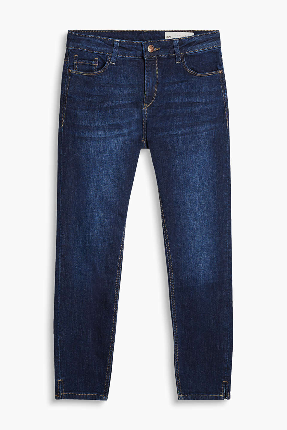 5-pocket jeans made of cotton denim with added stretch for comfort
