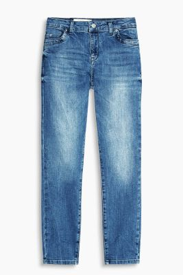 Sommerliche Stretch-Denim in 7/8-Länge