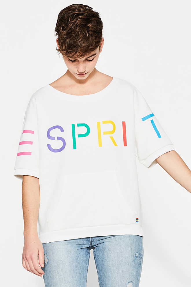 Esprit / RETRO COLLECTION: Logo-Sweatshirt