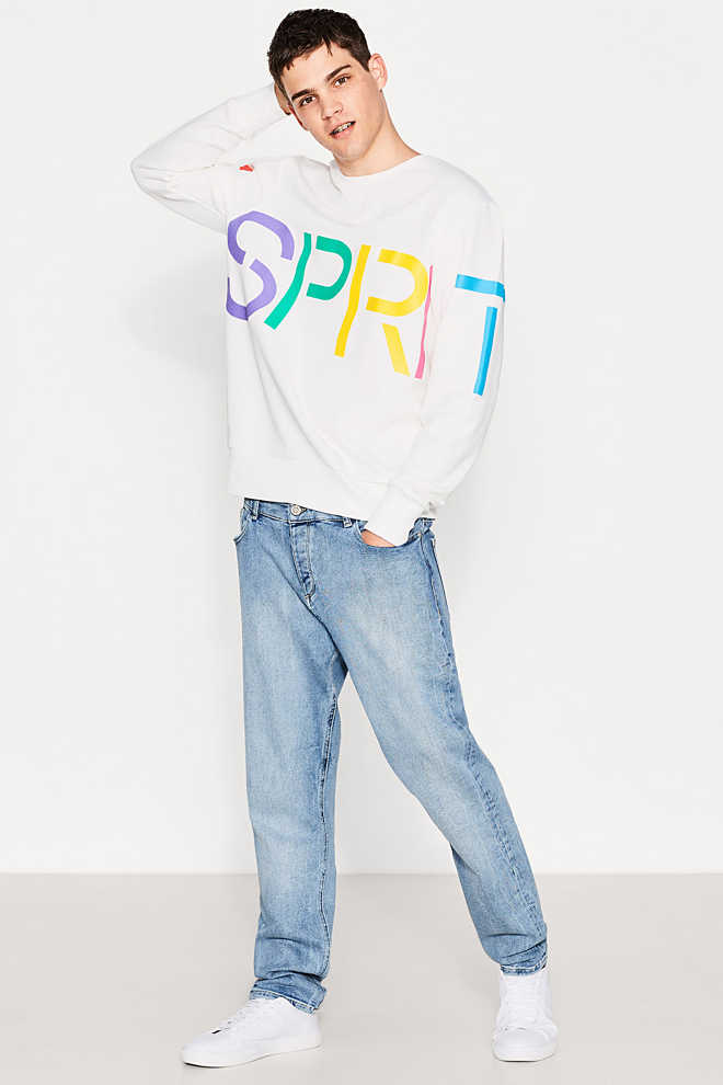 Esprit / RETRO COLLECTION - Logo-Sweatshirt