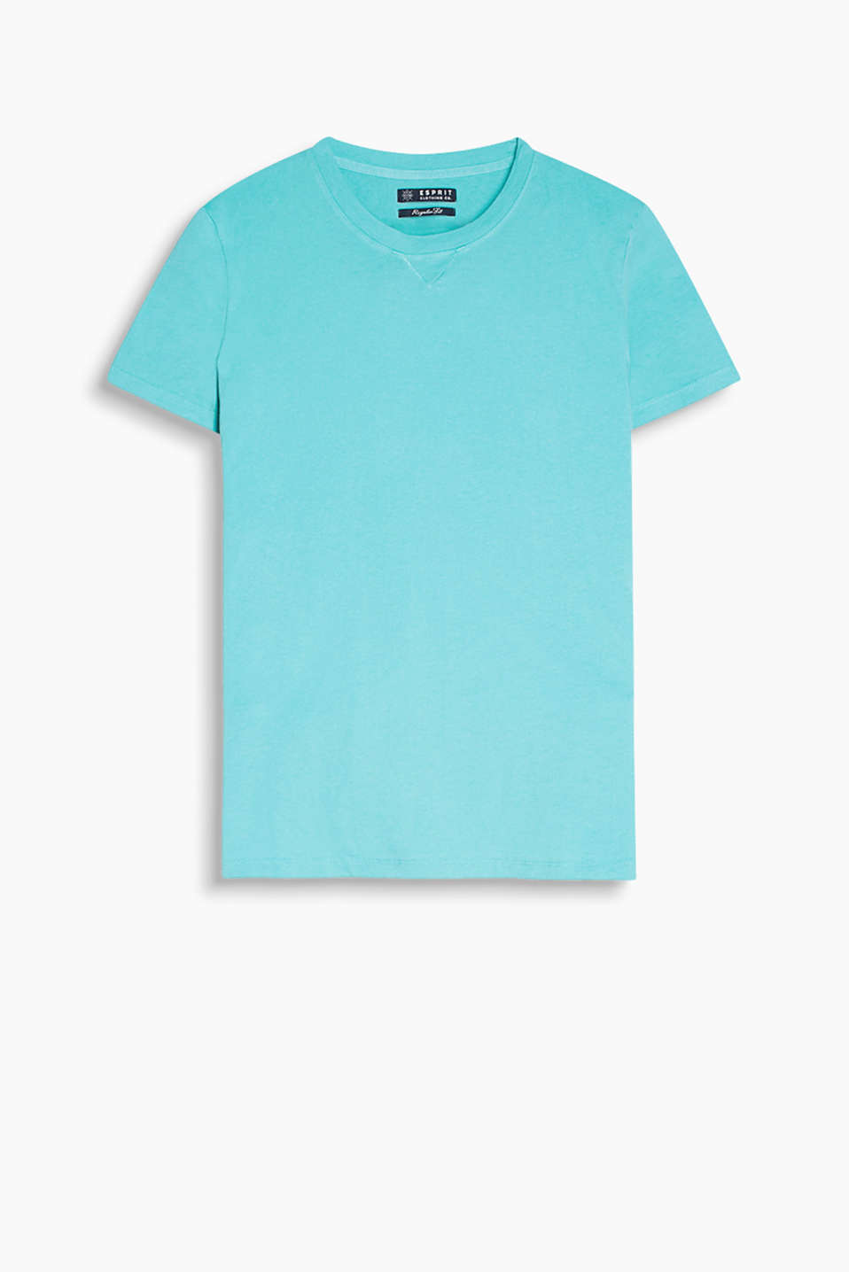 100% cotton T-shirt in a basic design