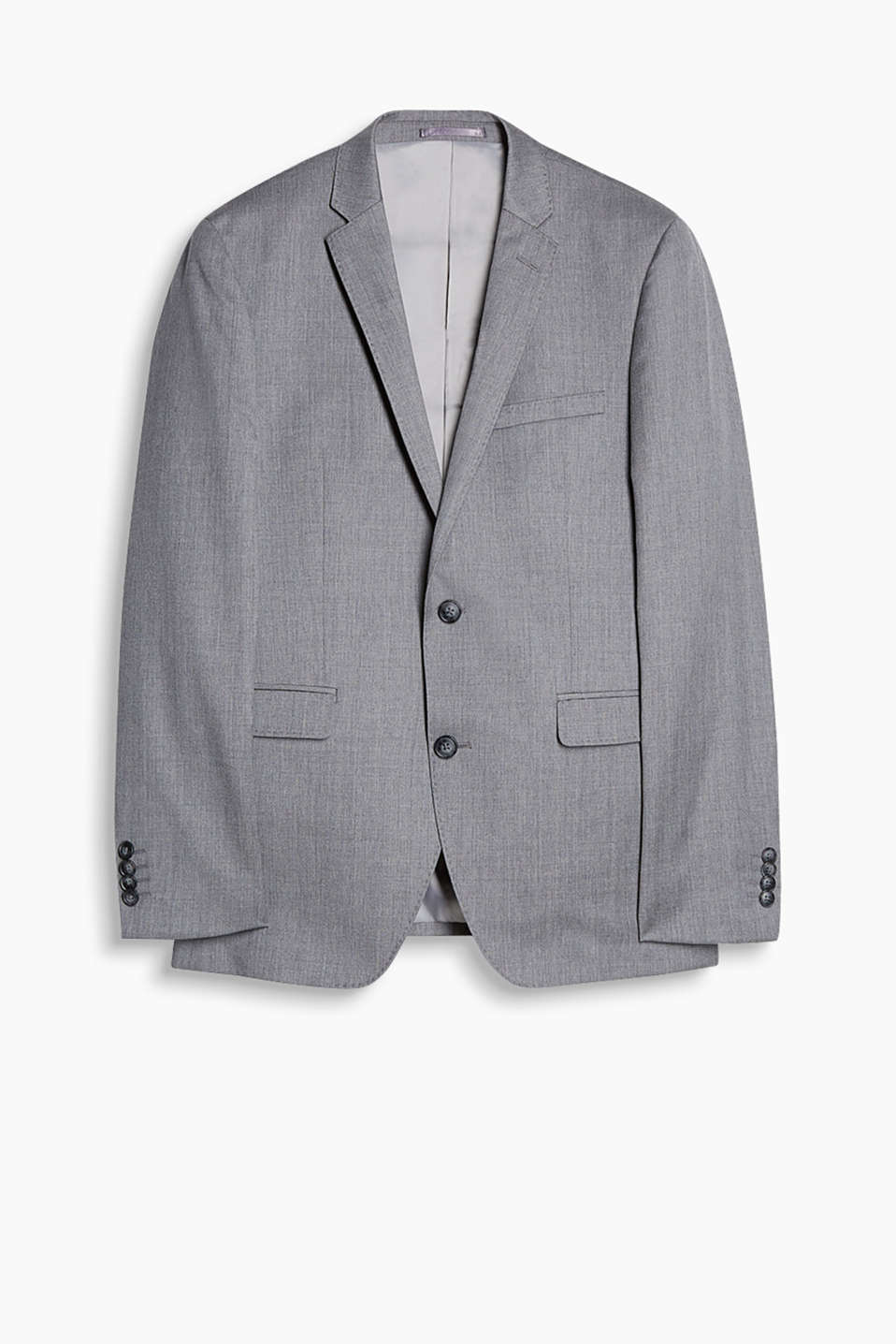 In a summery style: premium jacket with an integrated pocket square