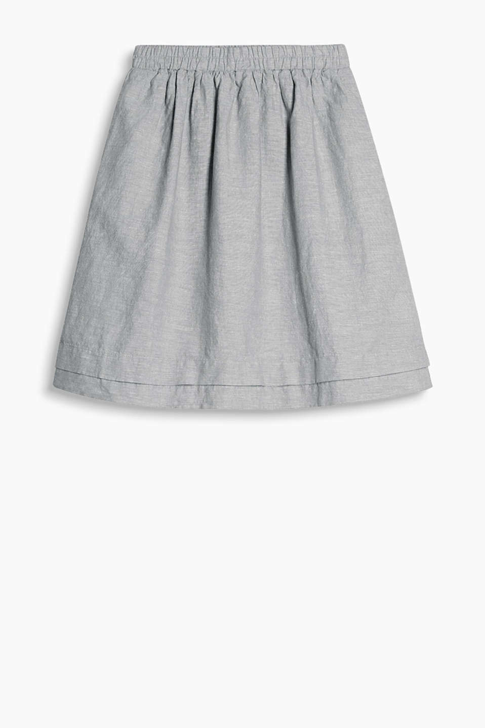 esprit jupe en lin coton acheter sur la boutique en ligne. Black Bedroom Furniture Sets. Home Design Ideas