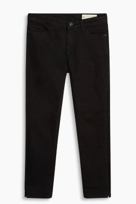 Cropped Jeans aus Baumwoll-Stretch