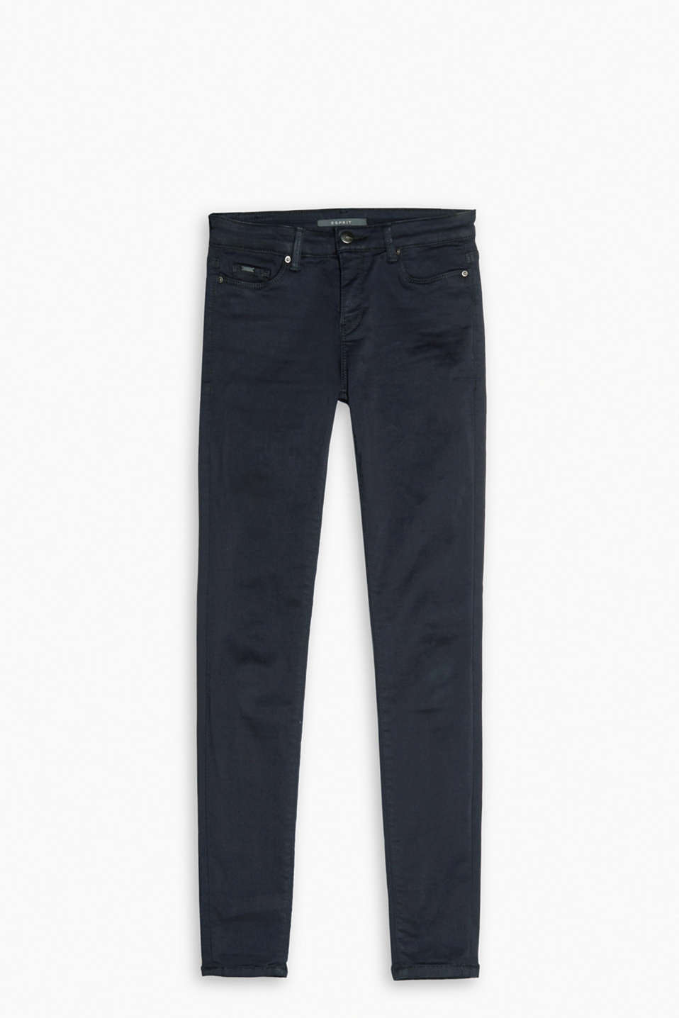 Premium 5-pocket-stretchjeans met shaping effect