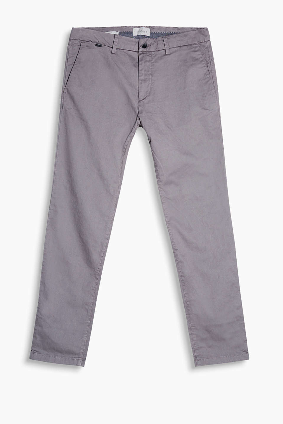 """The Wardrobe"": Premium chinos in a classic cut"