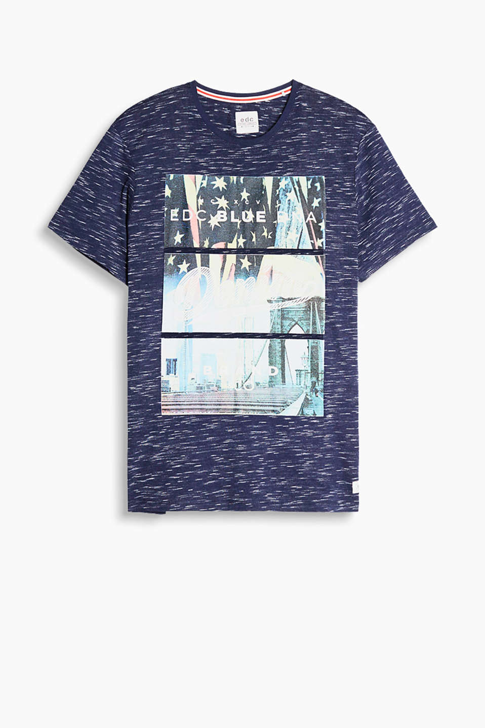 In 100% cotone: t-shirt con stampa city