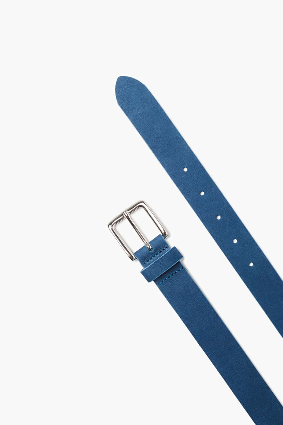 In colour: soft belt in 100% suede