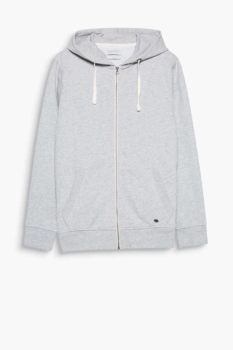 Classic hoodie with a stylish, retro vibe! The contrasting zip makes this hoodie look really cool.