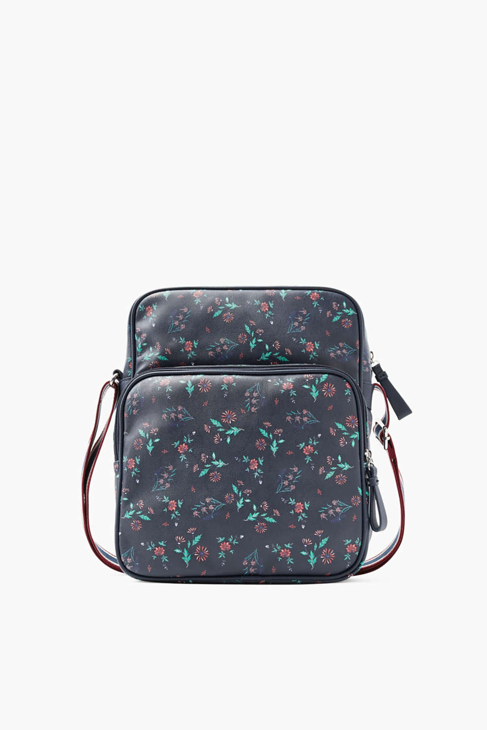 We love flowers! The fine, scattered flower print makes this stylish shoulder bag a heavenly highlight.