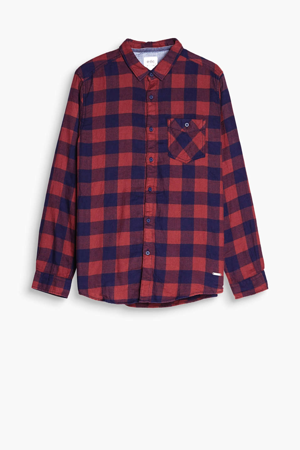 The Glencheck pattern makes this shirt perfect for country and grunge looks.