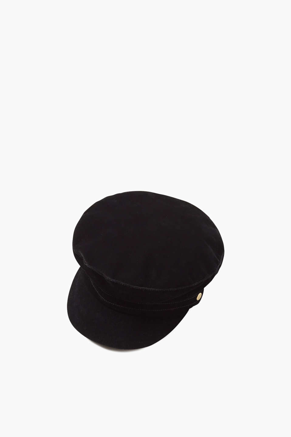 Whether for a military or rock-chic look – this cap impresses with its cool design and edgy badges
