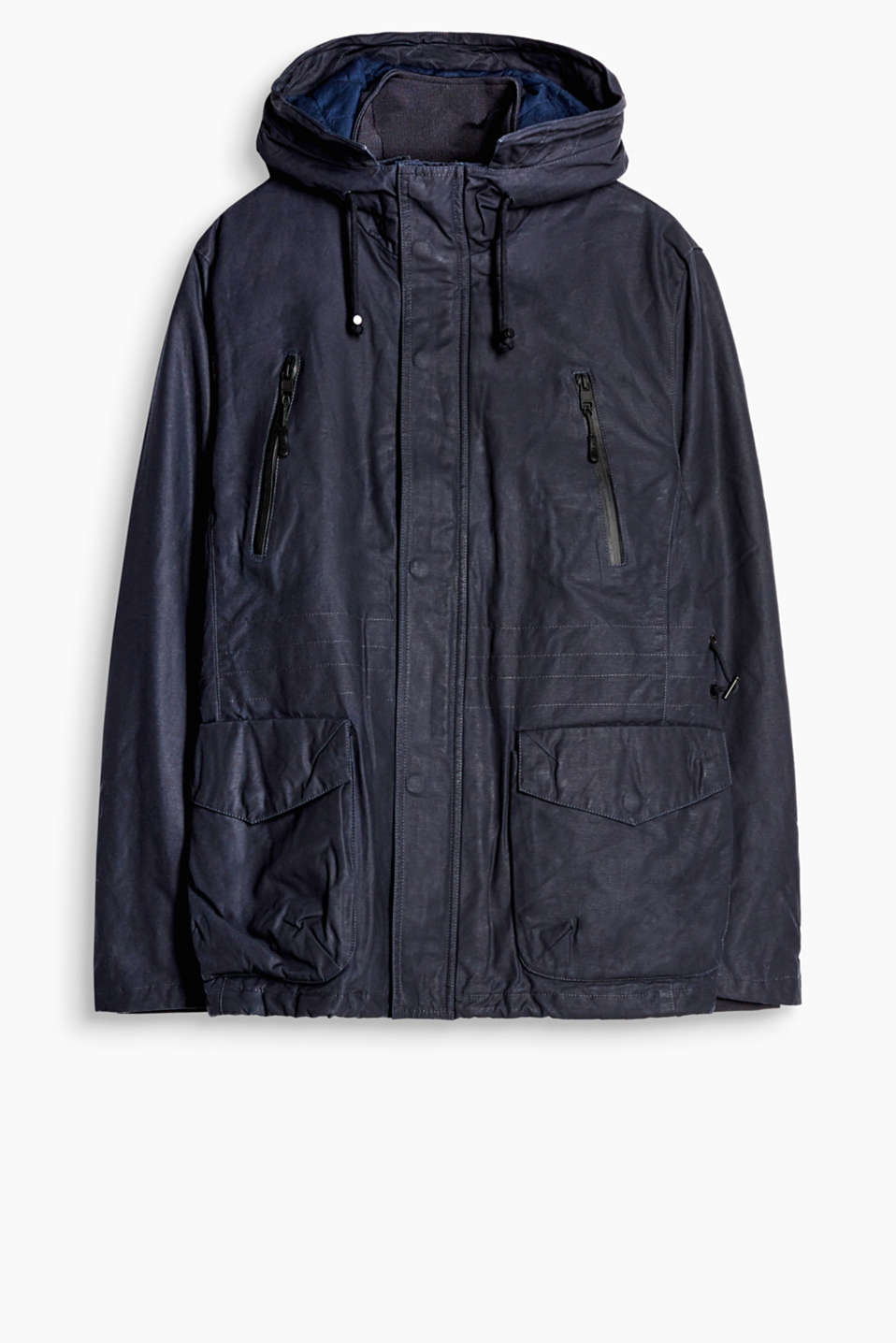 An outerwear classic! This padded jacket has a hood and understated details.