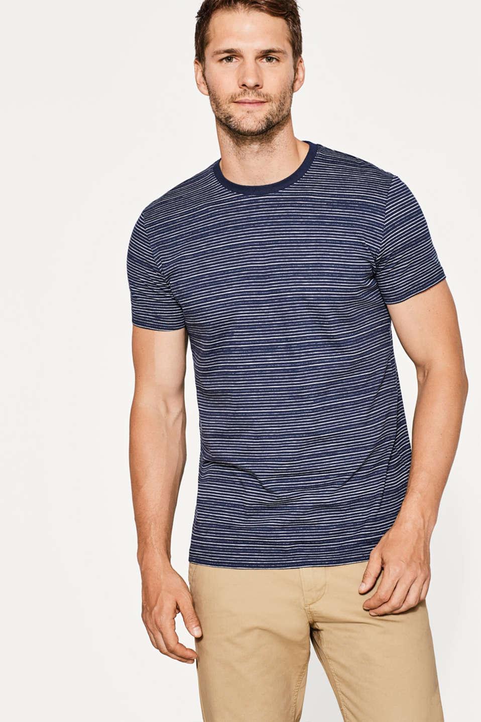 Esprit - Striped, cotton-jersey T-shirt