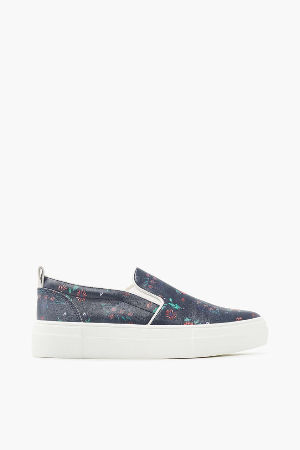 -We love flowers! Det fine blomsterprint gør disse slip on-sneakers til en style-highlight.