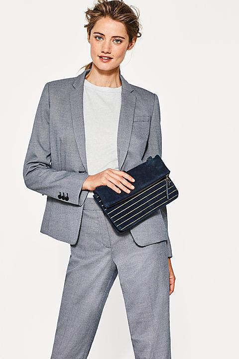 Gepflegter Stretch-Blazer mit Mini-Struktur