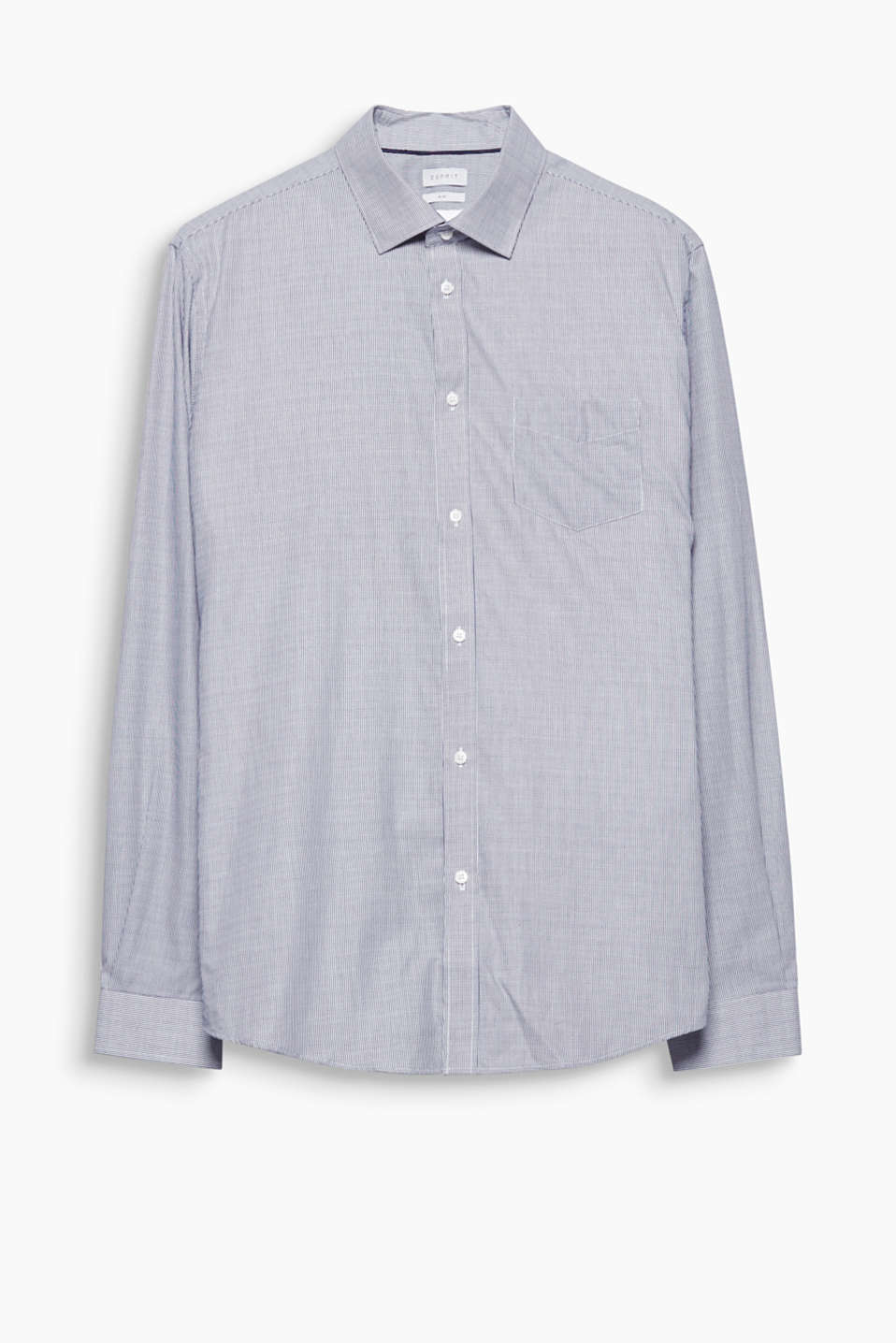 No wardrobe should be without this classic, pure cotton shirt with a new Kent collar