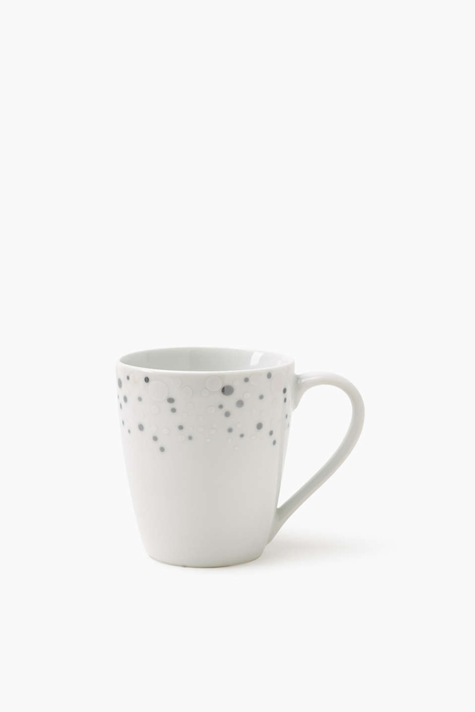 Collection: Dila Spark – a stylish way to present food and drinks! Cup with a polka dot design, in ceramic