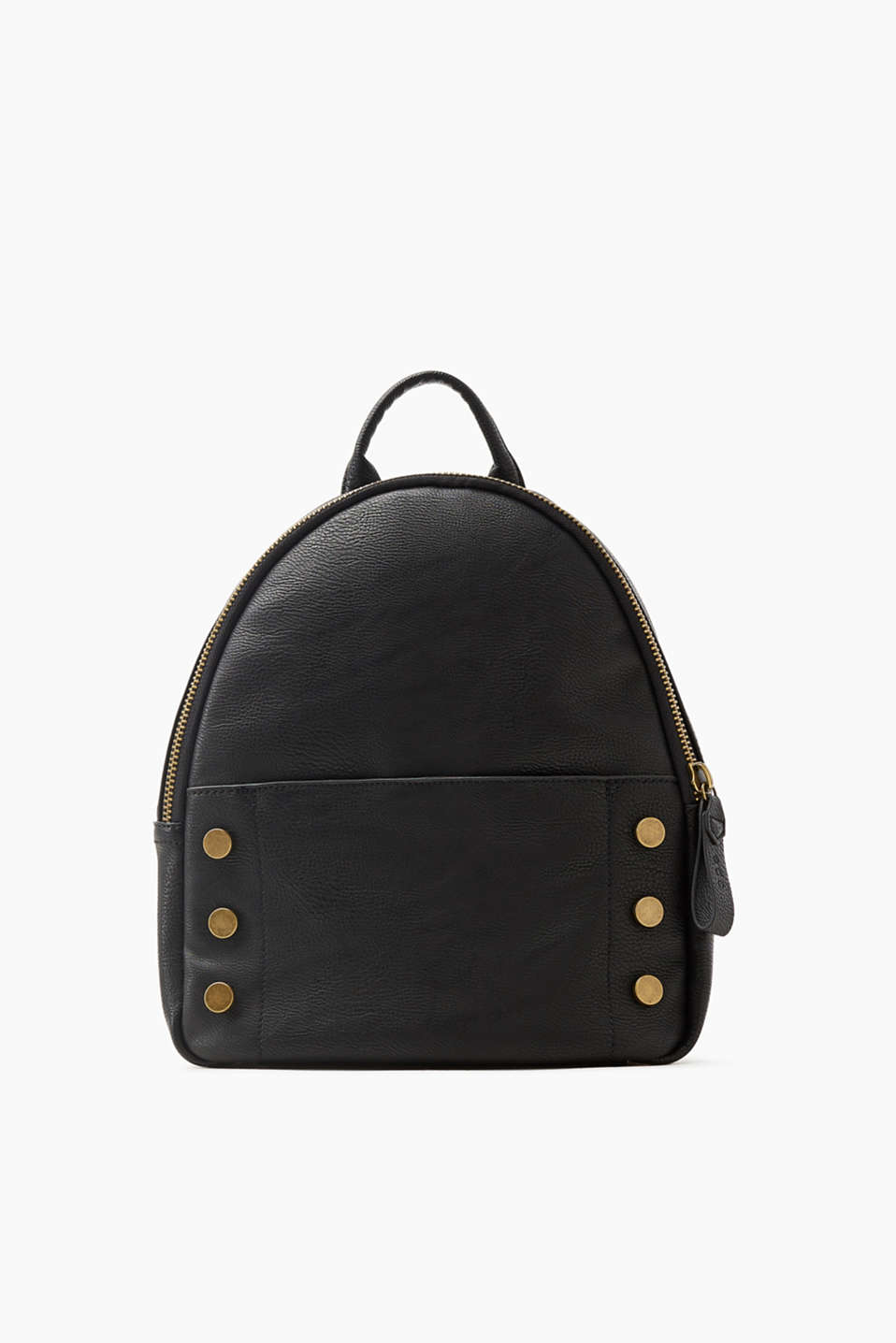 Compact design, cool studs: this shoulder bag combines spacious functionality with rocker style!