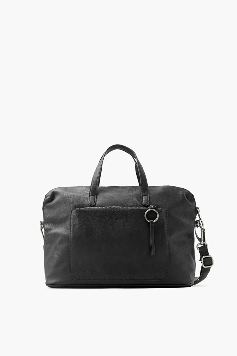 Timeless and elegant! This city bag in smooth faux leather will also round off all of your outfits