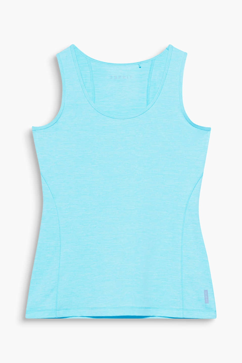 This functional tank top with stretch for comfort is an essential basic for all active sports!