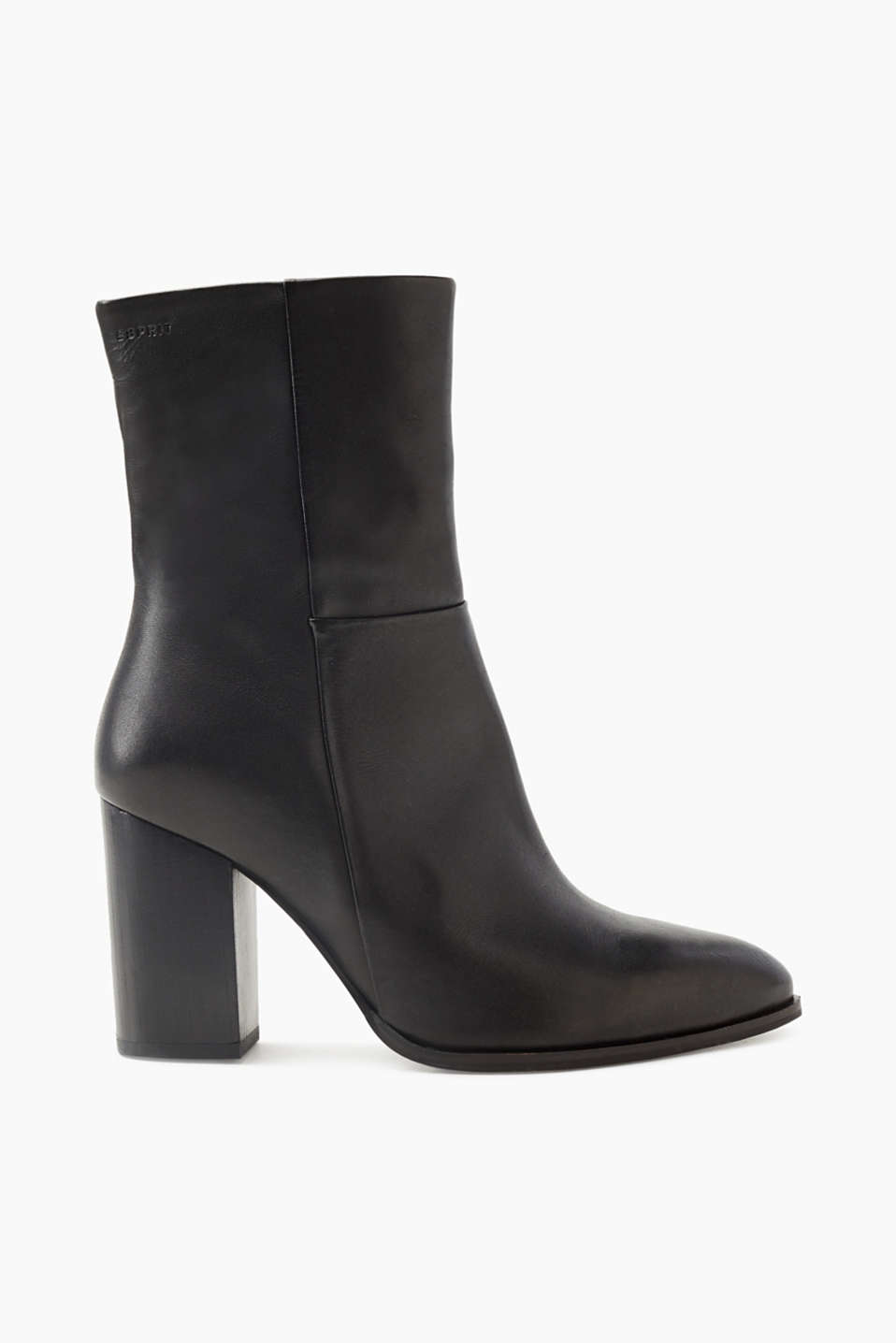 For elegant and casual looks: these ankle boots with a pointed heel and block heel will become your autumn favourite.