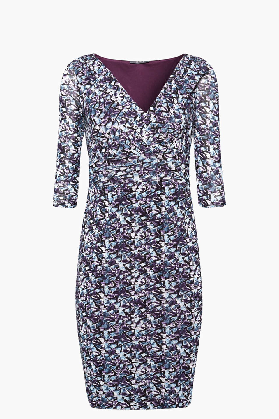 This charming printed mesh dress is perfect if you want to combine comfort and charisma!
