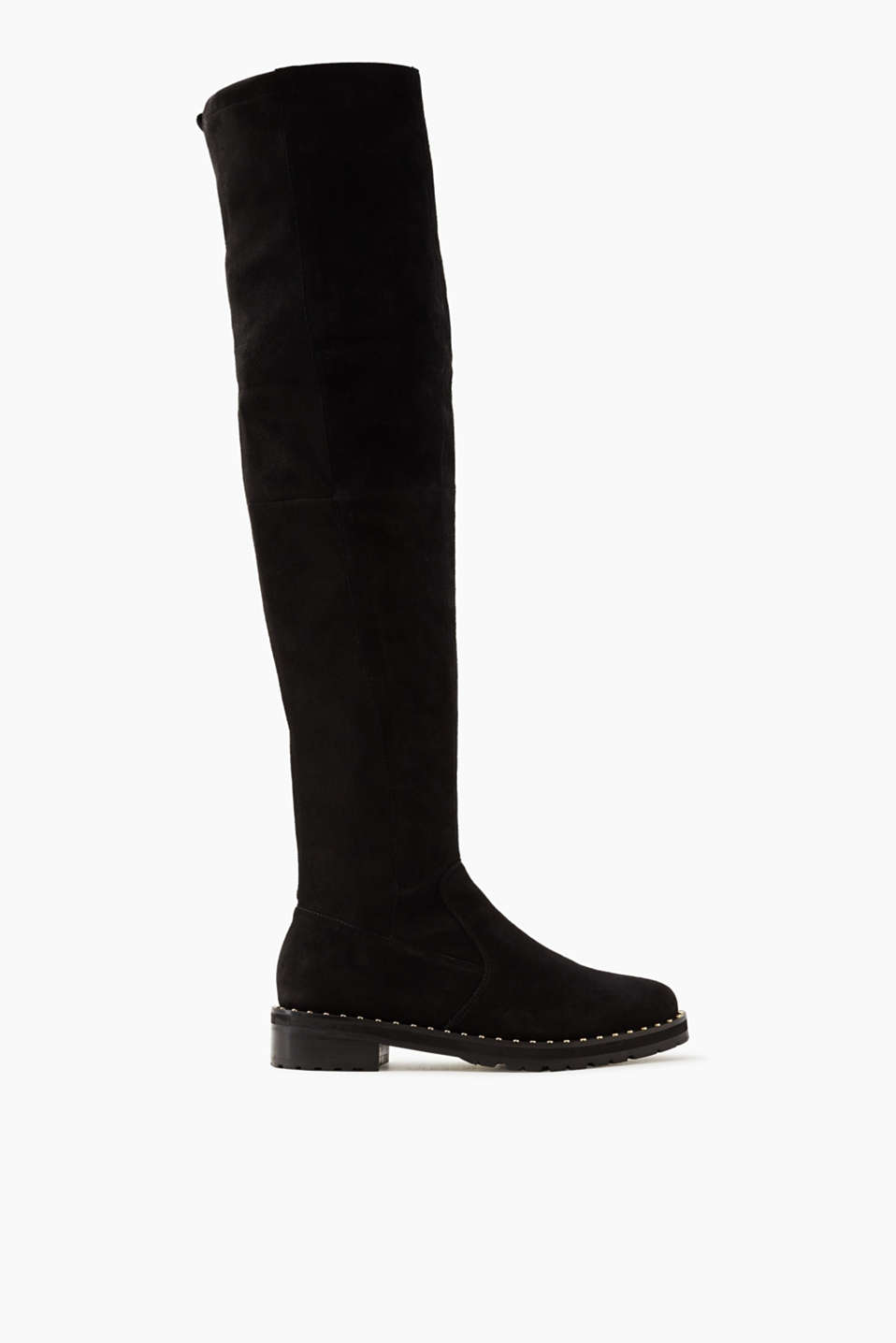 Stylish and eye-catching! Over-the-knee boots are one of the biggest footwear trends this season.