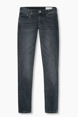 Stretchjeans met blue dark wassing