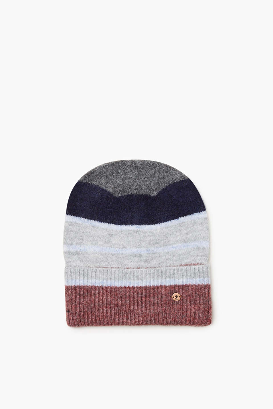 We love knitwear! This beanie stands out with