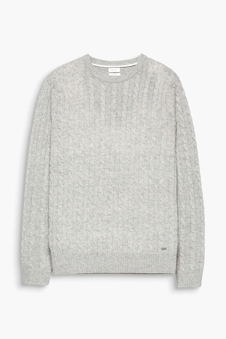 High-quality wool and the classic cable pattern make this jumper a timeless fashion piece.